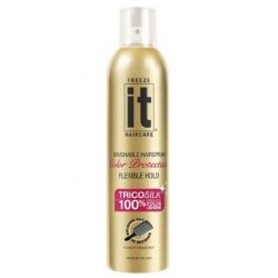 Freeze it Color Protection Hair Spray 24 Hour Hold - 24 H lak na vlasy s ochranou barvy, 250 ml