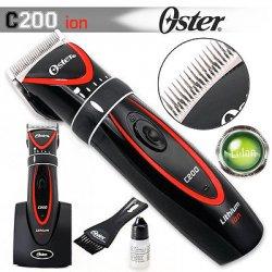 Oster C200 ion - profesionální strojek na vlasy s li + ion baterií +  Gembird - stlačený vzduch 0fbc563915b