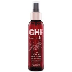 CHI Rose Hip oil repair shine leave-in tonic - neoplachujúce tonikum na barvené vlasy, 118 ml