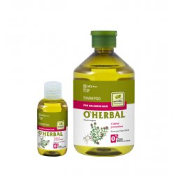 ​O'HERBAL For Coloured hair - šampon na barvené vlasy