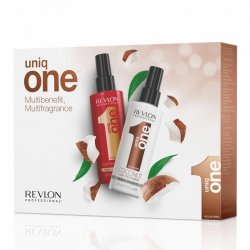 Uniq One DUO Pack Classic and Coconut - set regeneračních kúr klasik, 150 ml + kokos, 150 ml